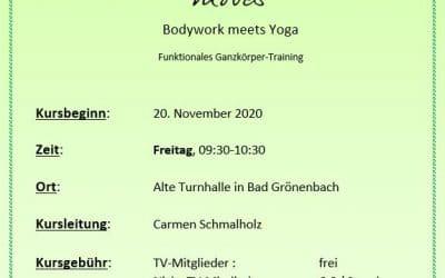 Anmeldung Bodega-Kurs  (Freitag 9:30-10:30, 20.11.2020)